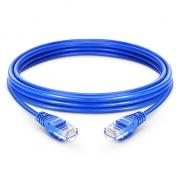6,6ft (2m) Cat 6 Patchkabel, Snagless ungeschirmtes UTP RJ45 LAN Kabel, PVC, Blau