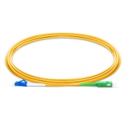 2m (7ft) LC UPC to SC APC Simplex 2.0mm PVC(OFNR) OS2 Singlemode Bend Insensitive Fiber Patch Cable