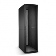 42U Black Server Cabinet 600x1170mm with 2 PDU Brackets and Adjustable Fixed Shelves