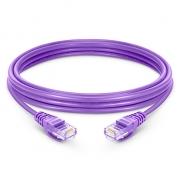 3,3ft (1m) Cat 5e Patchkabel, Snagless ungeschirmtes UTP RJ45 LAN Kabel, LSZH, Lila