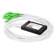 1x32 PLC Fiber Splitter, Splice/Pigtailed ABS Module, 900μm, SC/APC, Singlemode