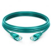 10ft (3m) Cat 6 Patchkabel, Snagless ungeschirmtes UTP RJ45 LAN Kabel, PVC, Grün