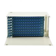 Distribuidor de fibra óptica(ODF) 96 fibras 19'' 6U montaje en rack, sin carga