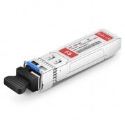 Dell GP-SFP-10GBX-U-20-I Compatible 10GBASE-BX20-U BiDi SFP+ 1270nm-TX/1330nm-RX 20km Industrial DOM LC SMF Transceiver Module