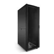 42U Black Network & Server Cabinet 800*1170mm with 2 Pre-Installed Cable Managers and PDU Brackets