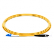 1m (3ft) LC UPC to ST UPC Simplex 2.0mm PVC (OFNR) 9/125 Single Mode Fiber Patch Cable
