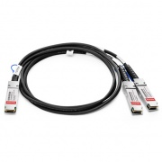 Customized 100G QSFP28 to 2x50G QSFP28 Passive Direct Attach Copper Breakout Cable
