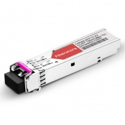 Módulo Transceptor SFP Mini-GBIC LC Gigabit 1000BASE-CWDM - Genérico Compatible - 80km - 1350nm - DOM