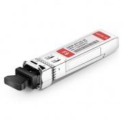 H3C C40 DWDM-SFP10G-45.32-80-I Compatible 10G DWDM SFP+ 100GHz 1545.32nm 80km Industrial DOM LC SMF Transceiver Module