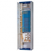 Distribuidor de fibra óptica(ODF) 576 fibras 19'' 1U montaje en piso, sin carga