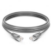 3.3ft (1m) Cat5e Snagless sin blindaje (UTP) LSZH Cable de conexión de red de Ethernet, gris