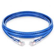 7ft (2.1m) Cat5e Snagless Unshielded (UTP) PVC CM Ethernet Network Patch Cable, Blue