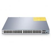 Switch/Commutateur PoE+ Gigabit Géré 48 Ports avec 4 SFP+, 600W