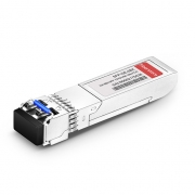 2-channel 1000BASE-BX BiDi SFP 1310nm-TX/1490nm-RX 10km DOM Transceiver Module for FS Switches