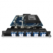 Divisor óptico, tipo de tarjeta plug-in para transmisión bidireccional de una sola fibra