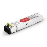 Cisco GLC-BX120-D Compatible 1000BASE-BX BiDi SFP 1550nm-TX/1490nm-RX 120km DOM Transceiver Module