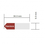 Etiqueta diseñada para SFP 100Base, 1000Base Transceptor, 1 rollo