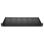 1U 19'' Vented Cantilever Fixed Server Rack Shelf