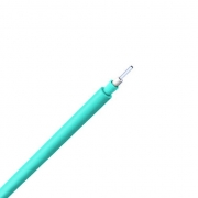 Single-Fiber Multimode 50/125 OM3, Plenum, Corning Fiber, Indoor Tight-Buffered Interconnect Fiber Optical Cable