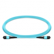 8-144 Fibers OM3 Multimode 12 Strands MPO Trunk Cable 3.0mm