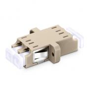 LC/UPC - LC/UPC Оптический Адаптер OM1/OM2, Дуплексный SC Тип, Пластиковый Фланец