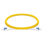 Customized LC to LC Uniboot Duplex 0.2dB IL OS2 Single Mode 2.0mm BIF Fiber Optic Patch Cable