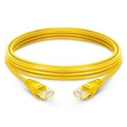 16ft (5m) Cat 6 Patchkabel, Snagless ungeschirmtes UTP RJ45 LAN Kabel, PVC, Gelb