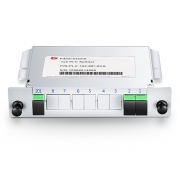 Customised 1xN, 2xN Blade Module Fibre Splitter, LC/SC/ST/FC, UPC/APC, Single Mode