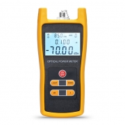 FOPM-101 Handheld Optical Power Meter(-70~+6dBm) with 2.5mm+FC+SC+ST Connector