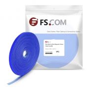Brida de Velcro Autoadherente 12 x 25000 mm (0,48 x 1000″) - 25 m/rollo - Azul