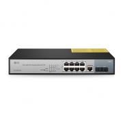 8-Port Gigabit PoE+ Managed Switch with 2 SFP, 150W
