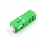 SC/APC 9/125μm Single-mode Low Reflection Fiber Optic Terminator Connector