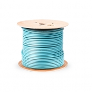 12 Fibres OM3 Indoor Tight-Buffered Distribution Cable GJPFJV, Non-unitized, Plenum, 0.087km