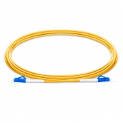 2m (7ft) LC UPC to LC UPC Simplex 2.0mm LSZH 9/125 Single Mode Fiber Patch Cable