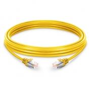 3,3ft (1m) Cat 6 Patchkabel, Snagless Booted geschirmtes SFTP RJ45 LAN Kabel, PVC, Gelb