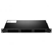 1 HE Slide-Out Rackmount LGX LWL-Gehäuse entladen, kann bis zu 3 LGX Kassetten