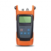 FHOM-102 Power Metre + Visual Fault Locator Handheld Optical Multimetre with 2.5mm+FC+SC+ST Connector