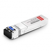 2-channel 1000BASE-BX BiDi SFP 1490nm-TX/1310nm-RX 10km DOM Transceiver Module for FS Switches