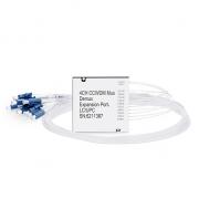 Compact CWDM Mux Demux, 2.2dB Max IL, Single Fiber, Side-A