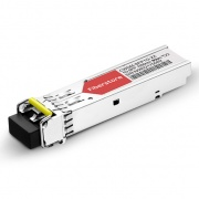 Módulo Transceptor SFP Mini-GBIC LC Gigabit 1000BASE-CWDM - Genérico Compatible - 80km - 1550nm - DOM