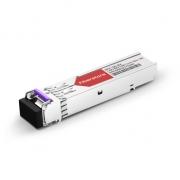 Brocade E1MG-BXD Compatible 1000BASE-BX-D BiDi SFP 1490nm-TX/1310nm-RX 10km DOM Transceiver Module