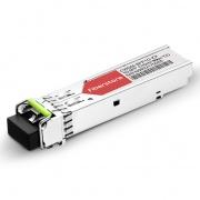 Módulo Transceptor SFP Mini-GBIC LC Gigabit 1000BASE-CWDM - Genérico Compatible - 80km - 1310nm - DOM