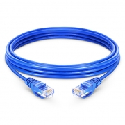 3.3ft (1m) Cat5e Snagless sin blindaje (UTP) LSZH Cable de conexión de red de Ethernet, azul
