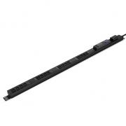 7.2kW Single-Phase 30A/200-240V Switched PDU, 16 C13 Outlets, NEMA L6-30P Plug, 10ft Cord, 0U Vertical