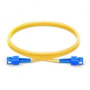 Cable de fibra óptica monomodo insensible a la curvatura, 9/125 OS2 SC UPC a SC UPC dúplex G.657.A1 7m