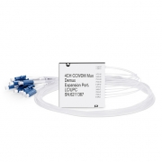 Compact CWDM Mux Demux, 2.6dB Max IL, Dual Fiber