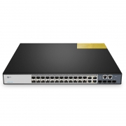 S3900-24F4S Glasfaser SFP 24-Port Gigabit Switch Stackable mit 4 Combo SFP und 4 10GE SFP+ Port