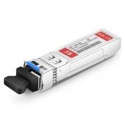 Extreme Networks 10GB-BX20-U-I Compatible 10GBASE-BX20-U BiDi SFP+ 1270nm-TX/1330nm-RX 20km Industrial DOM LC SMF Transceiver Module