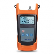FOPM-104 Handheld Optical Power Meter(-50~+30dBm) with 2.5mm+FC+SC+ST Connector