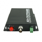 1 Channel HD-CVI over Optical Fiber Transmitter and Receiver Set